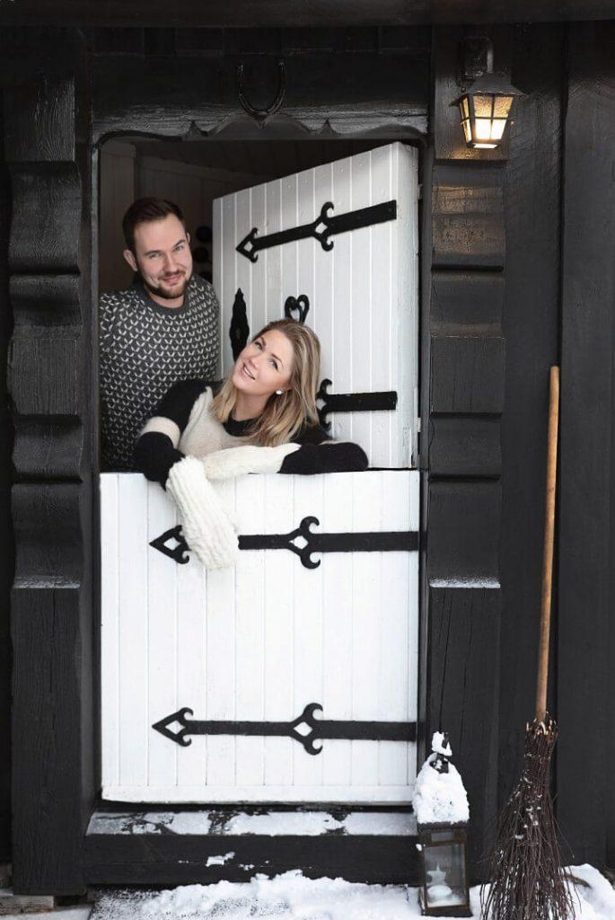 Annette et christian Thorsbye Propriétaire chalet cosy à la déco bohème chic