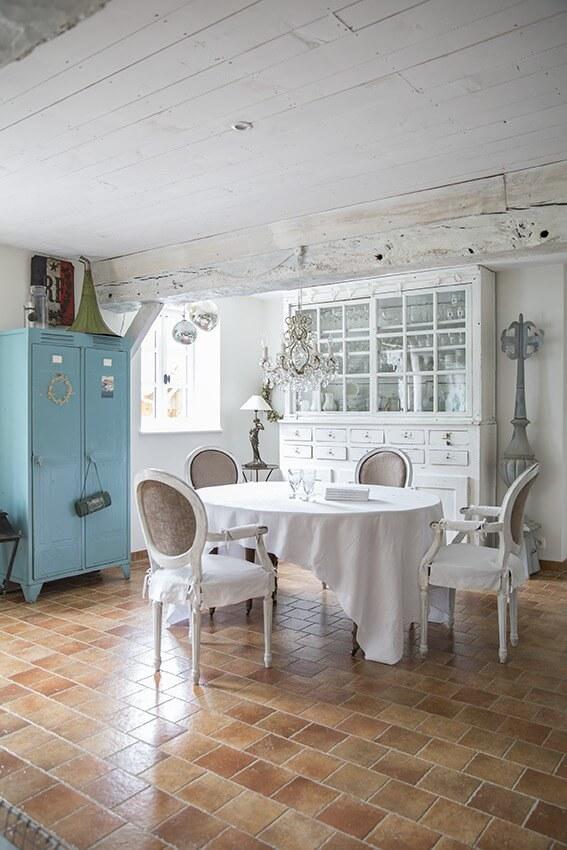 salle à manger maison de charme Normandie