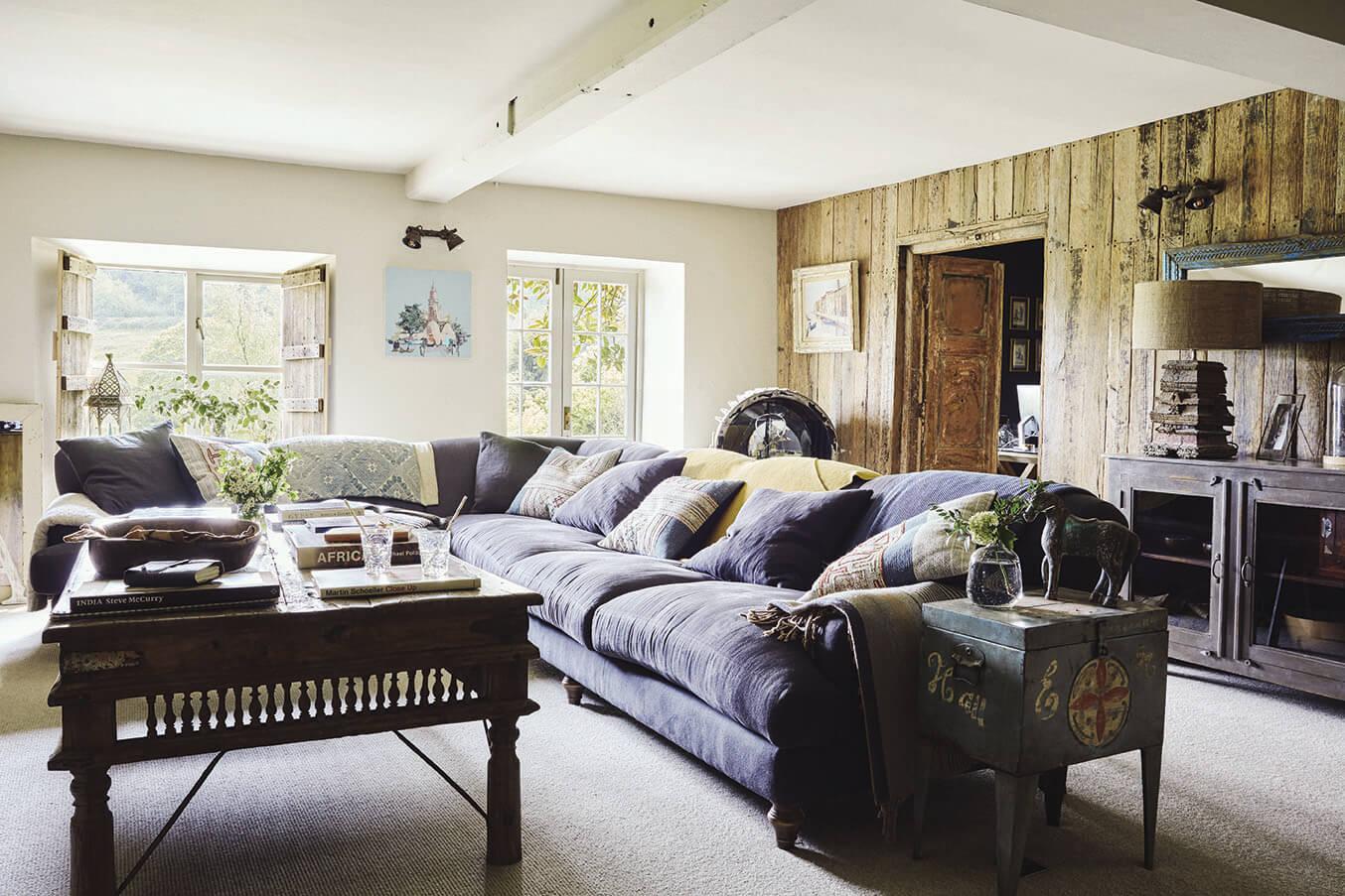 Deco Chambre Ethnique Chic décoration ethnique chic : une charmante maison en pleine nature