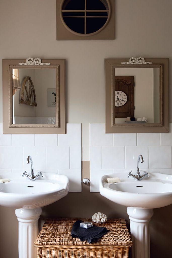 Salle de bain maison de campagne
