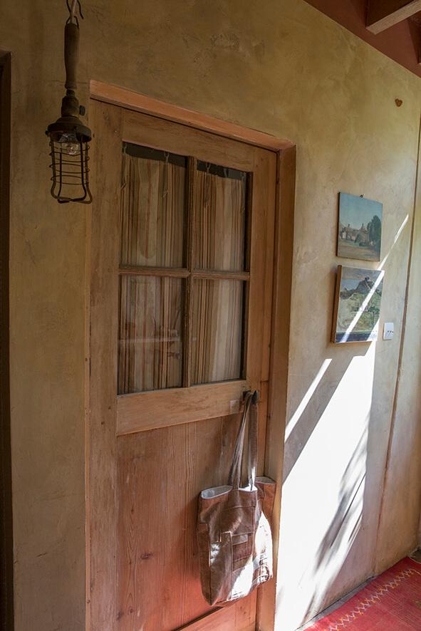 Porte maison authentique