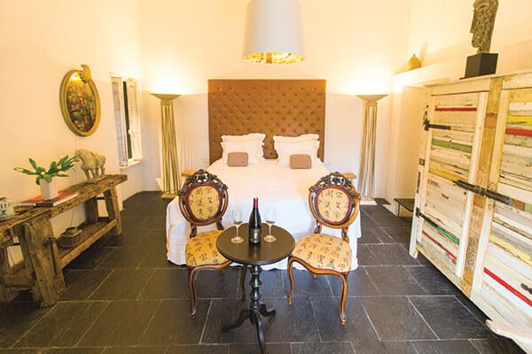 chambre au style provençal maison de campagne