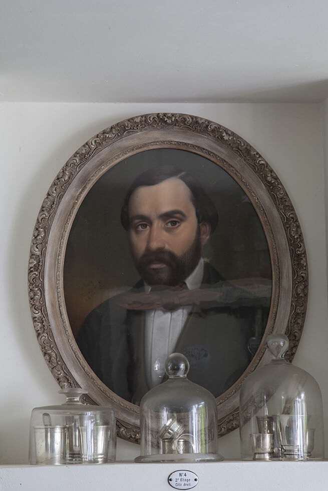 Cadre portrait homme maisons de campagne à la déco récup chic