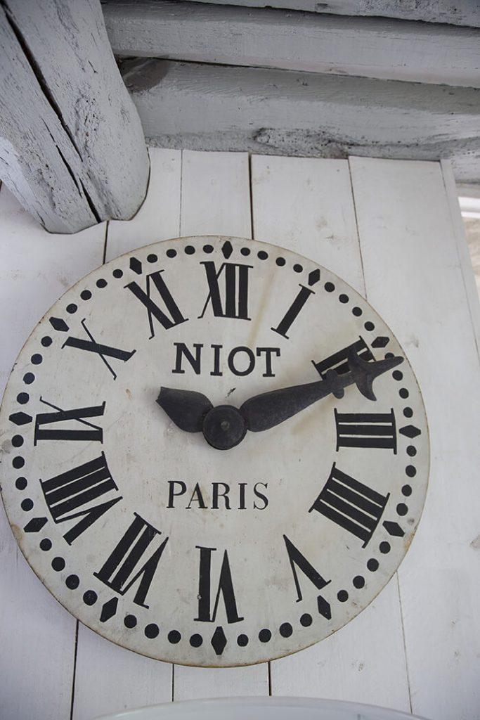 horloge maison de campagne à la déco récup chic