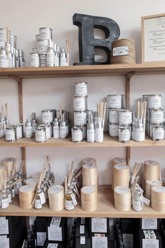 Collections de bougies