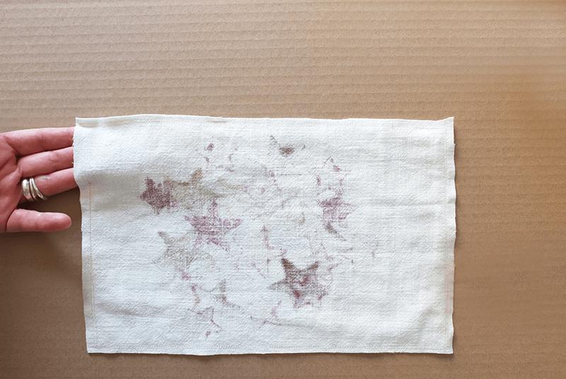 Tissu blanc pour la fabrication d'une housse de coussin