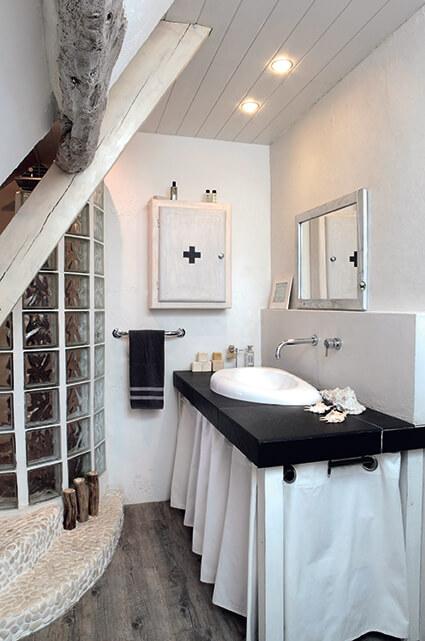 Salle de bain au style campagne