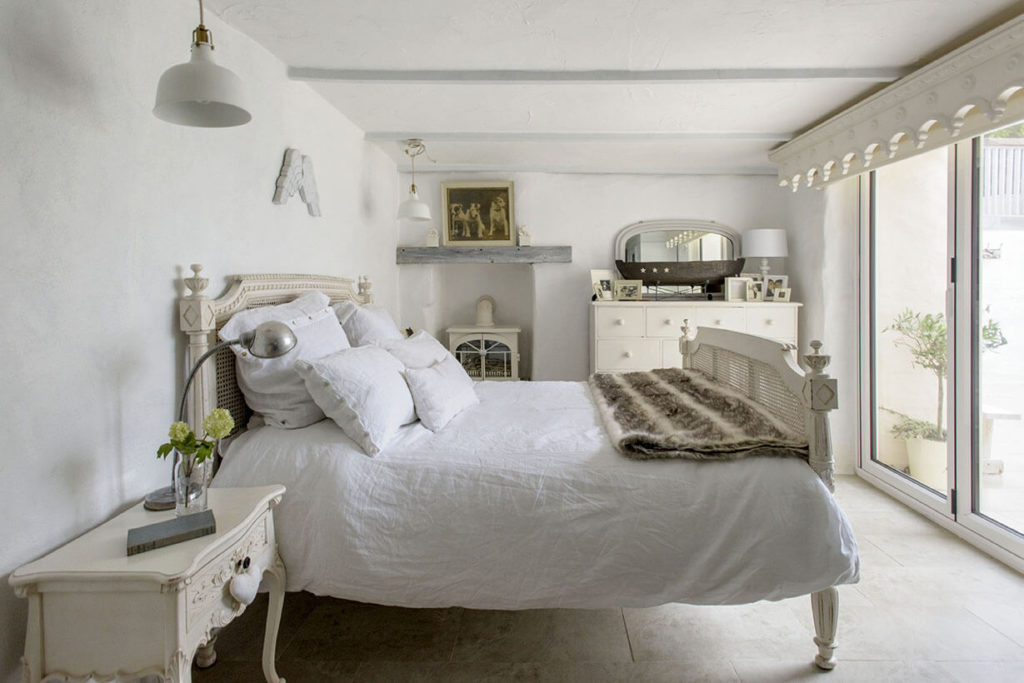 Chambre au style shabby chic