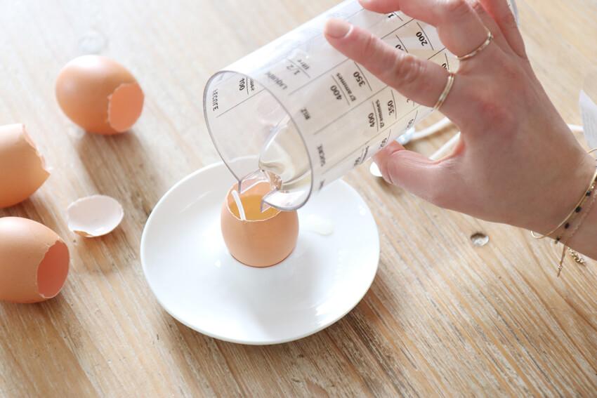 DIY Pâques, un centre de table, étape 3