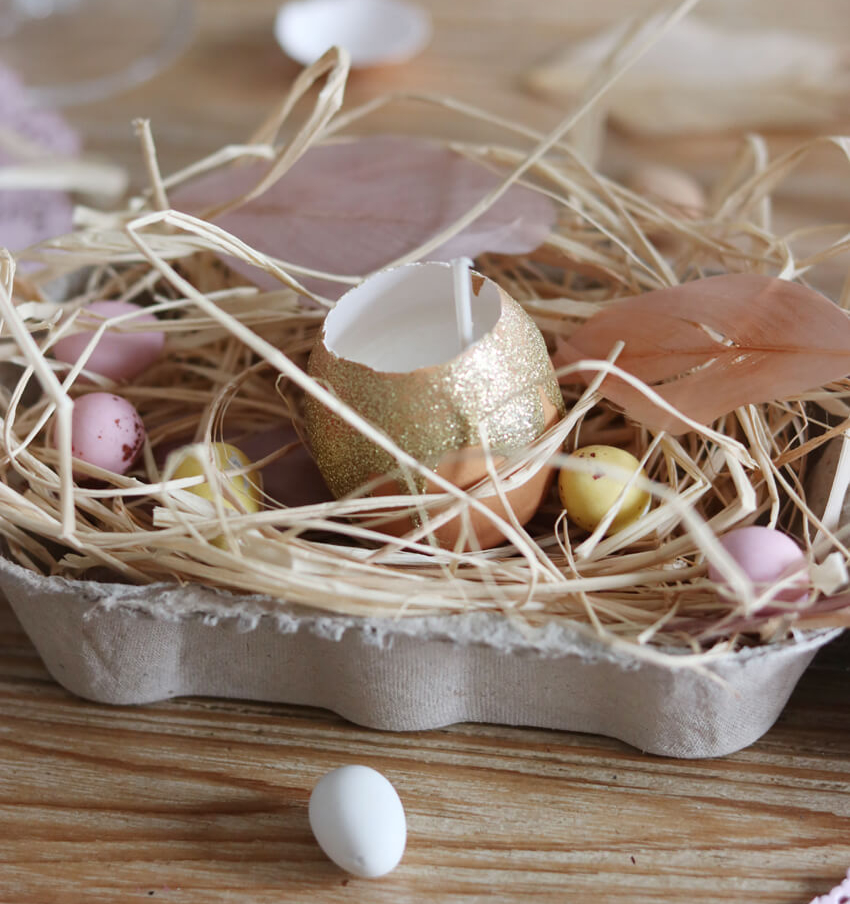 DIY Pâques, un centre de table, étape 6