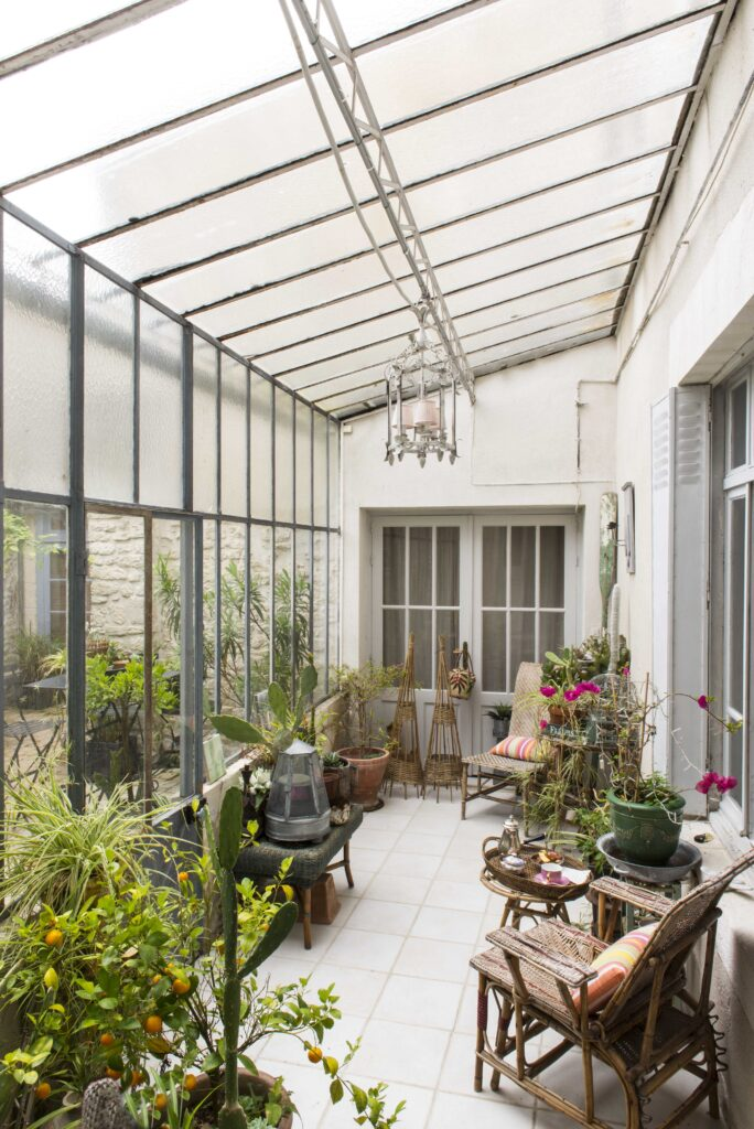 Entrée maison style style moderne classique