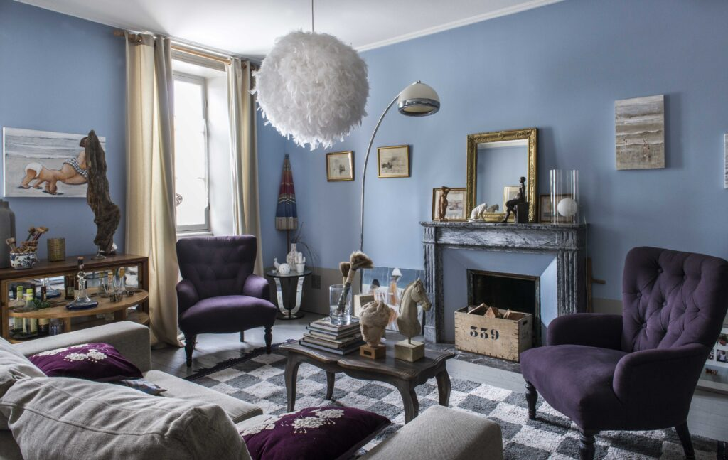 salon style moderne classique