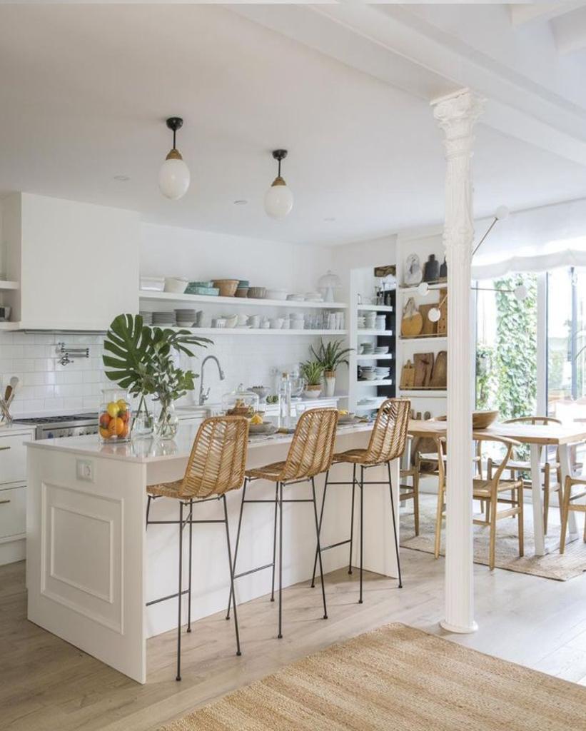 cuisine ouverte sur salon