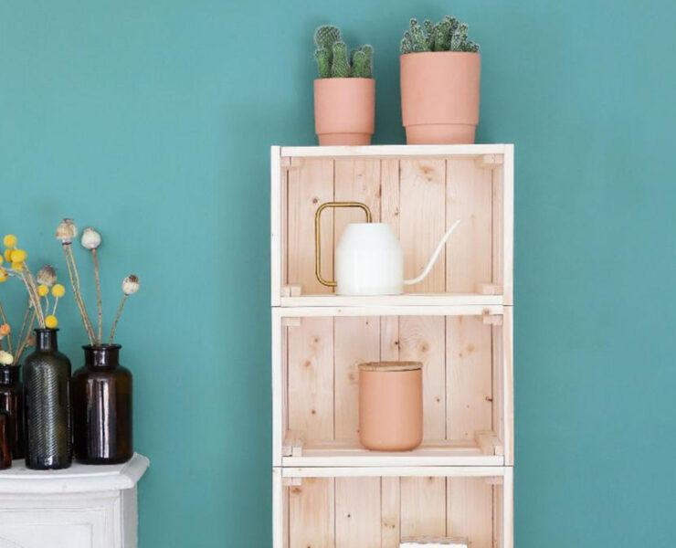 DIY : comment fabriquer un meuble étagère ?
