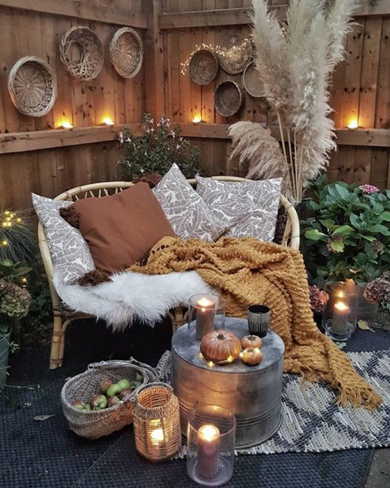 ambiance cocooning terrasse