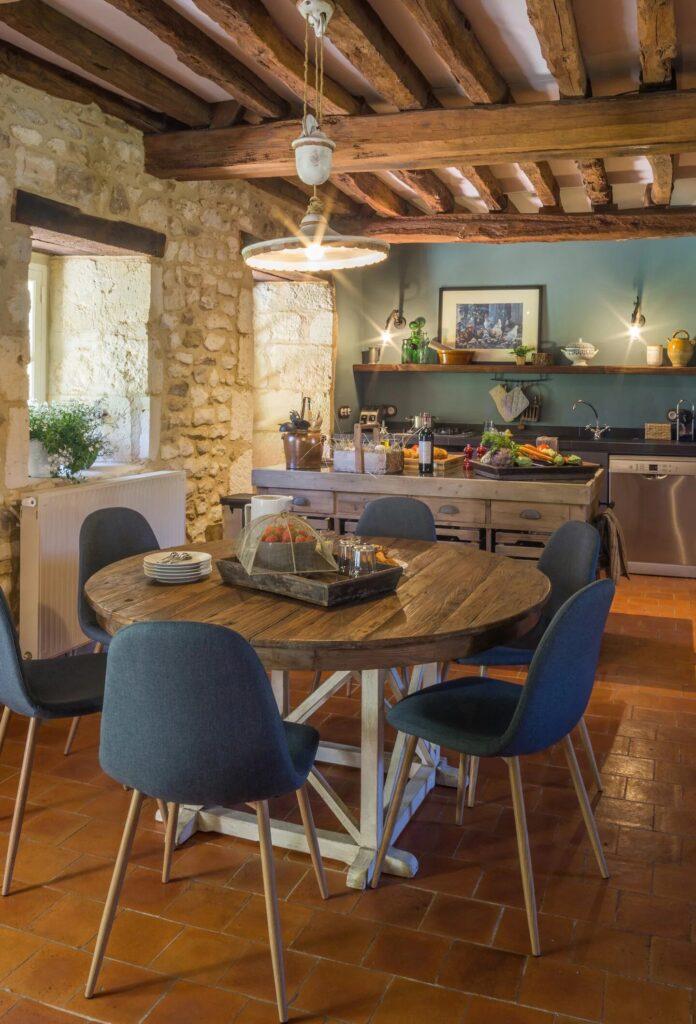 salle à manger au style authentique
