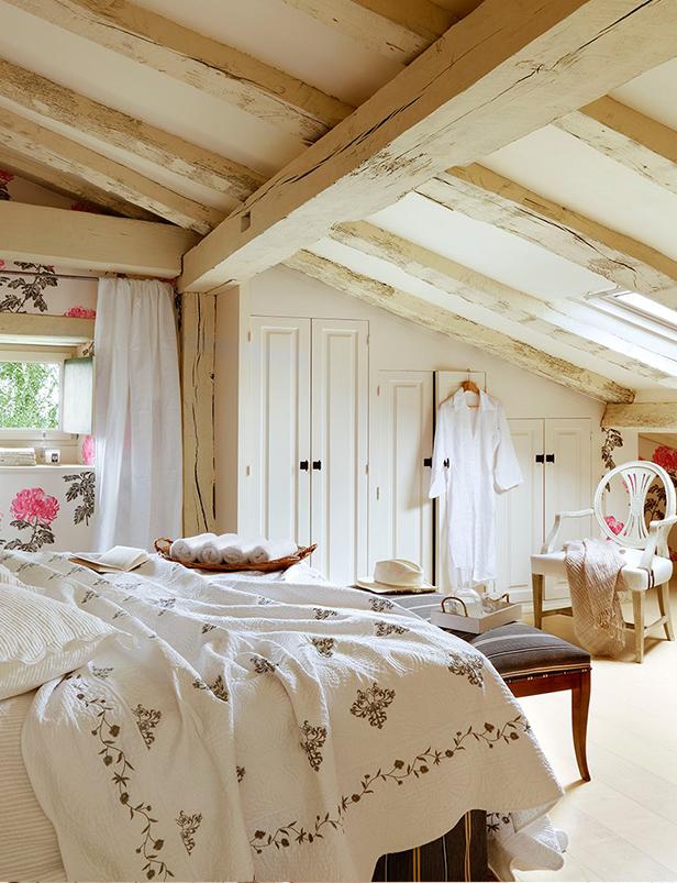chambre maison montagnarde