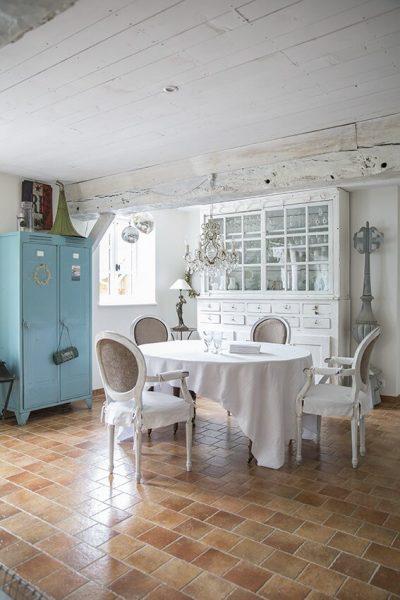 salle à manger maison normande
