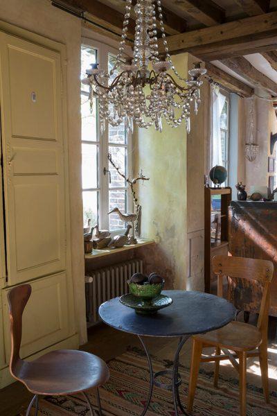 intérieur maison normande