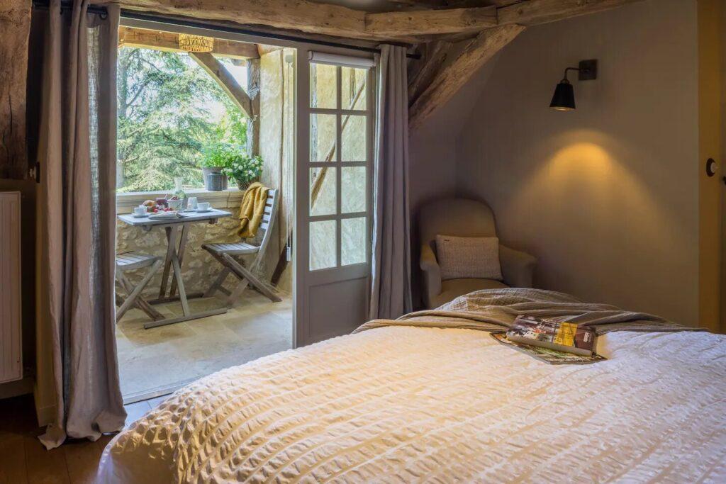 chambre au style authentique