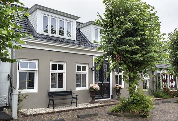 maison au style ancien et moderne