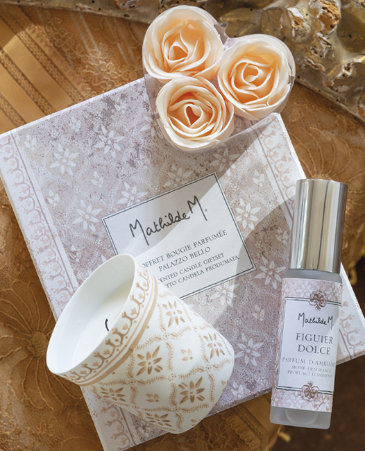 "Coffret bougie parfumée collection ""Palazzo Bello"" - Mathilde M."