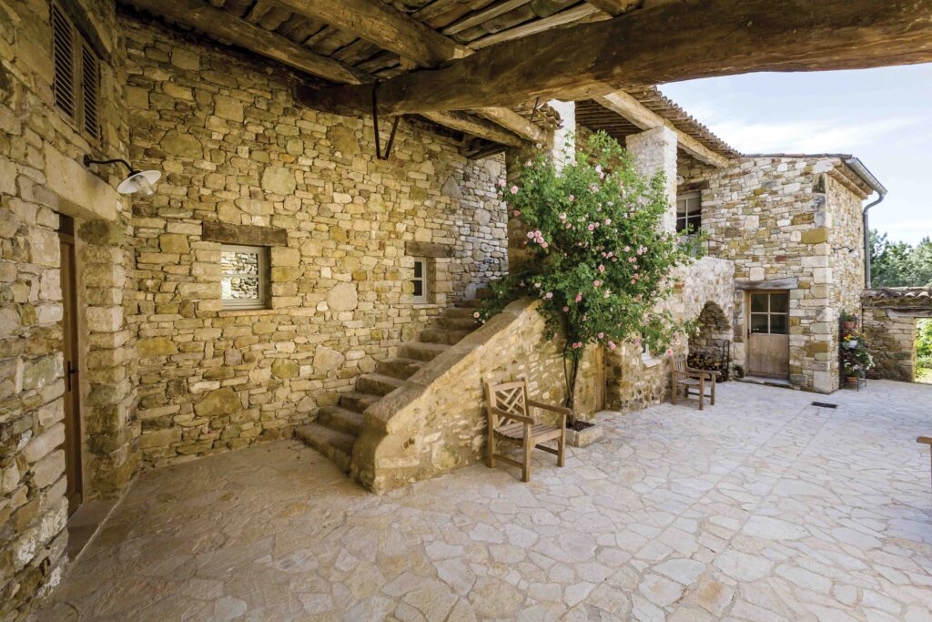 terrasse rustique