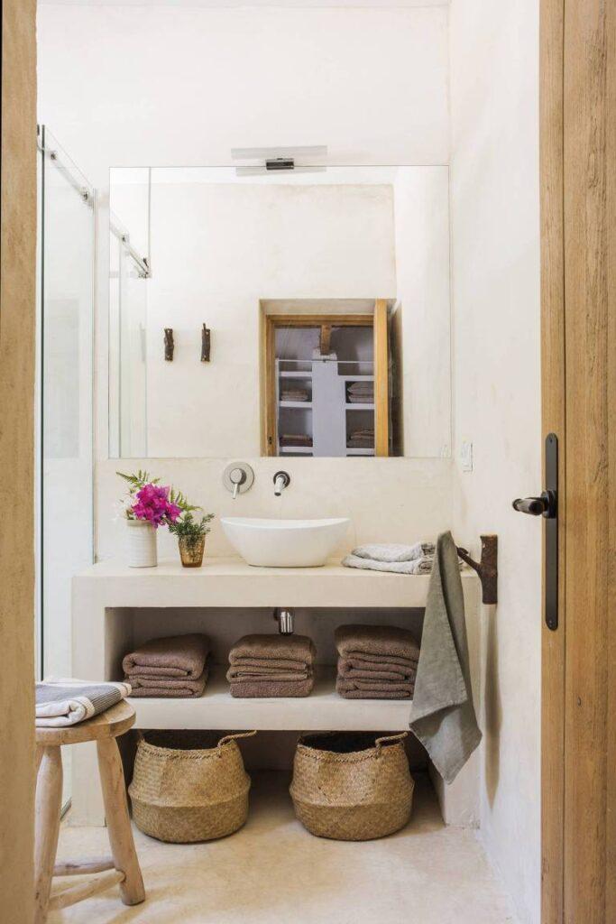 salle de bain style maison méditerranéenne