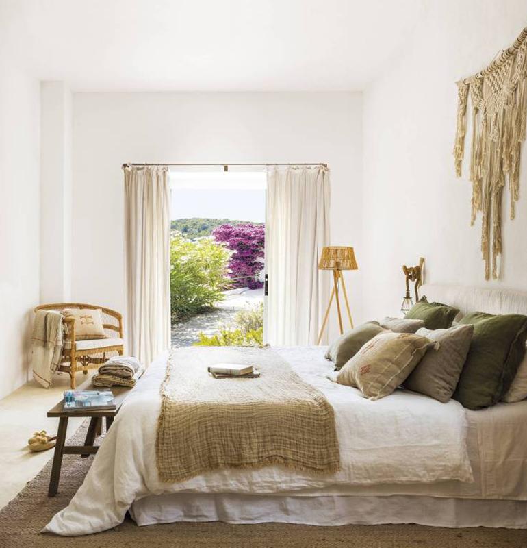 chambre style maison méditerranéenne