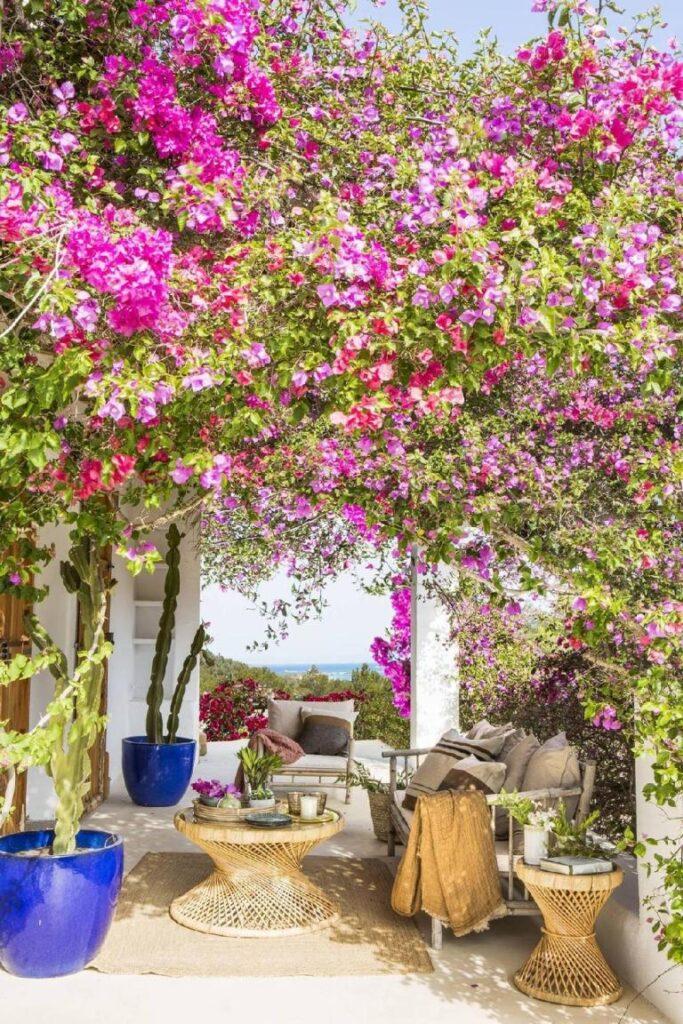 terrasse style maison méditerranéenne