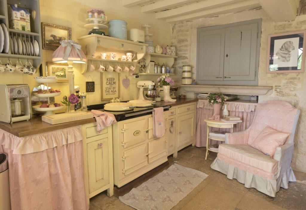 cottage décoration cuisine