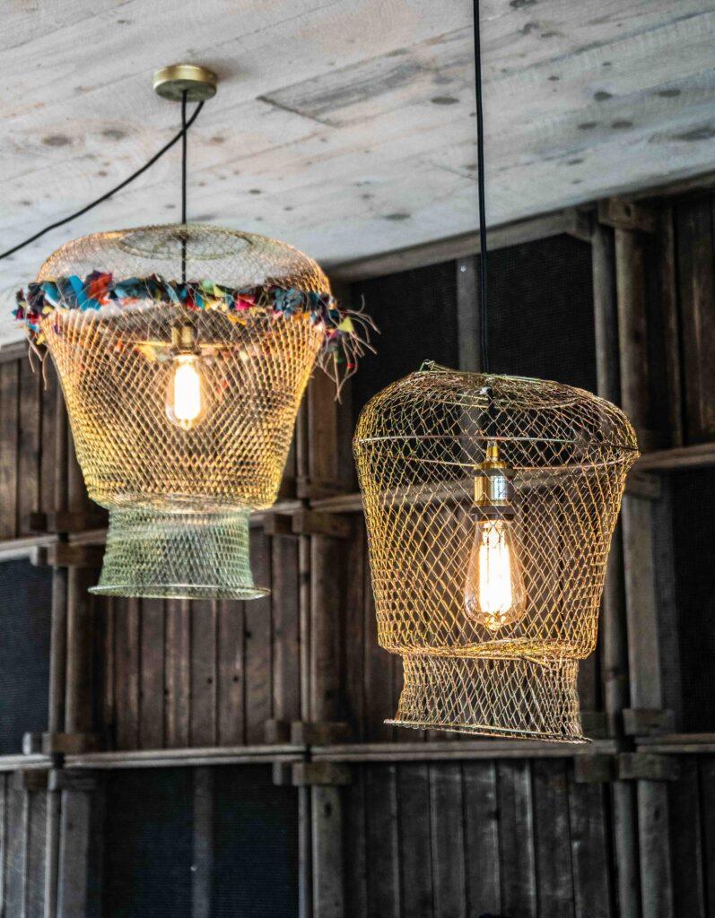 lampe déco ethnique contemporaine
