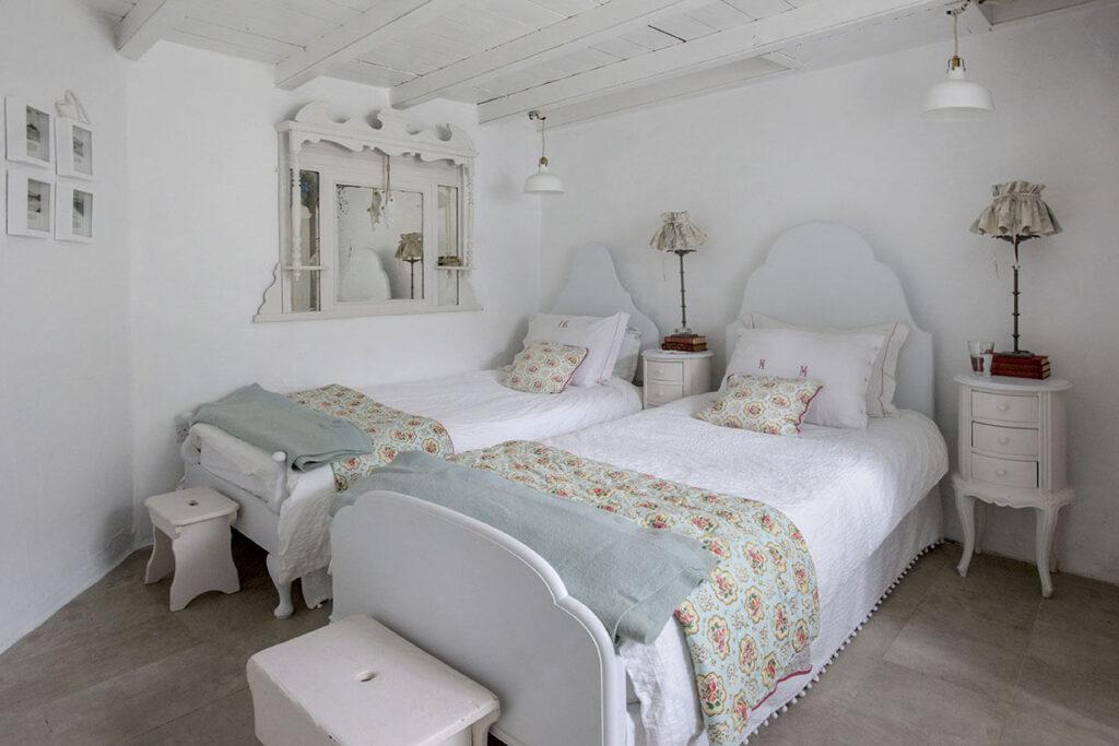 cottage décoration chambre