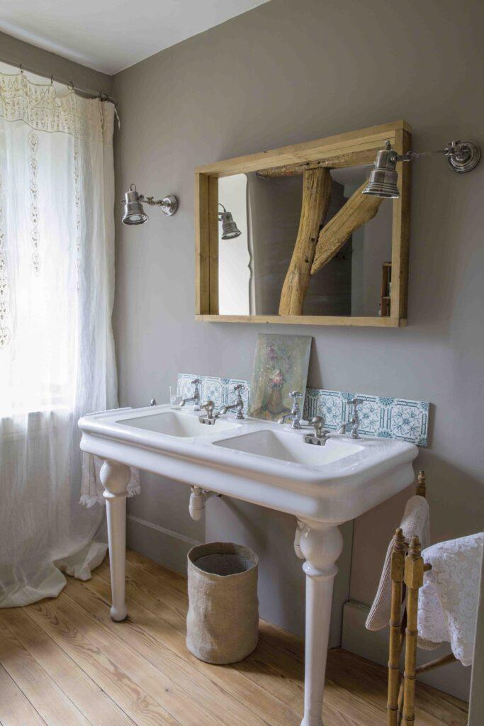 salle de bain inspirations rustiques