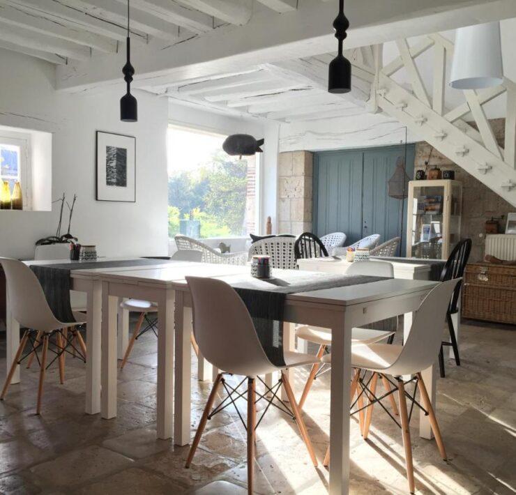 salon moulin style rustiqe