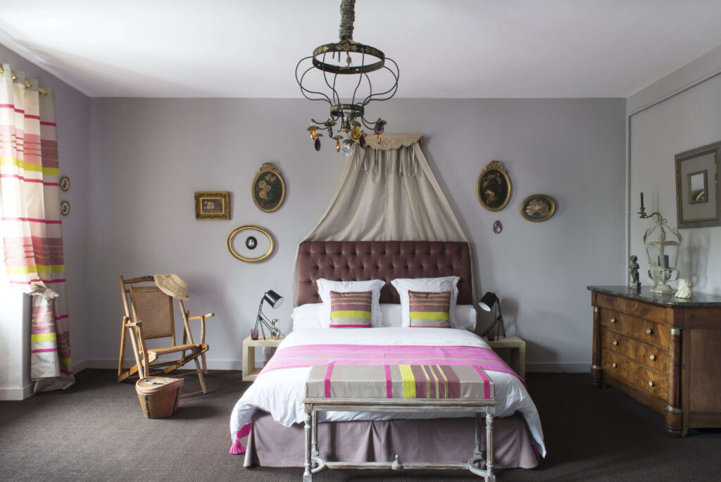 chambre style moderne classique