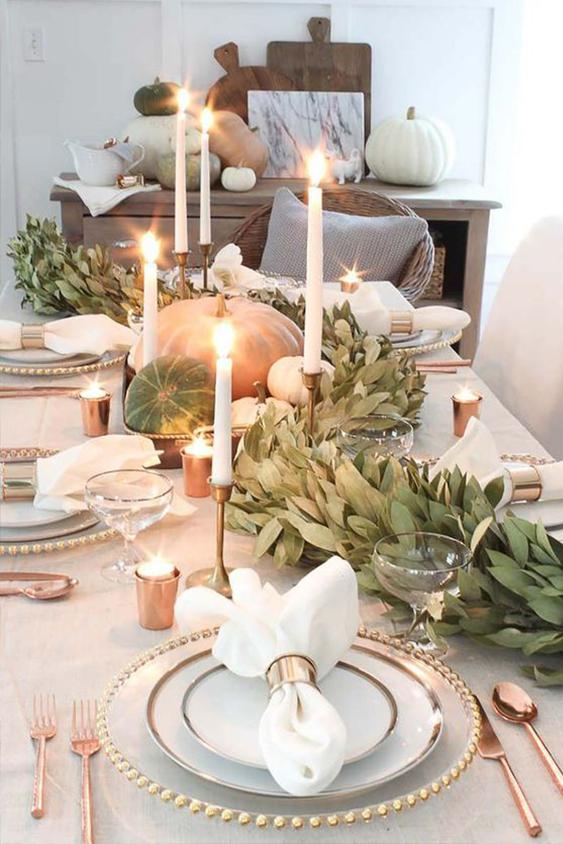 quelle décoration de table de Noël ?