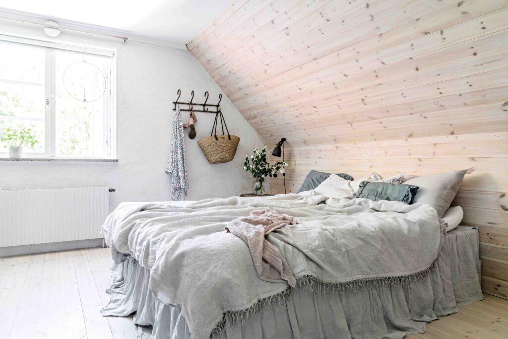 maison style moderne et contemporain chambre