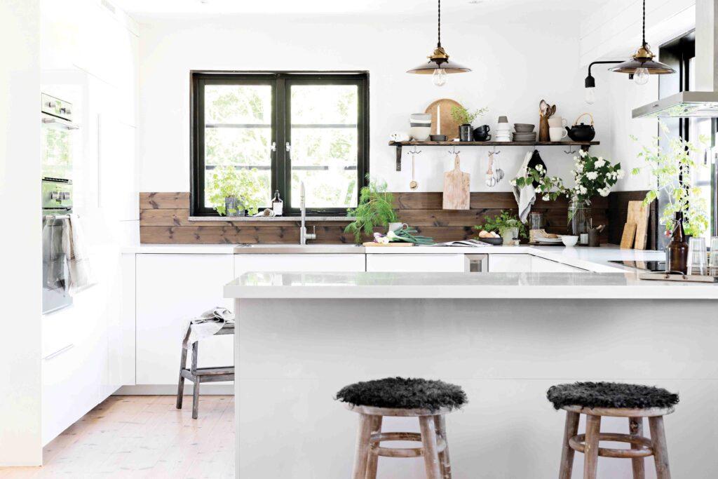 cuisine maison style moderne et contemporain