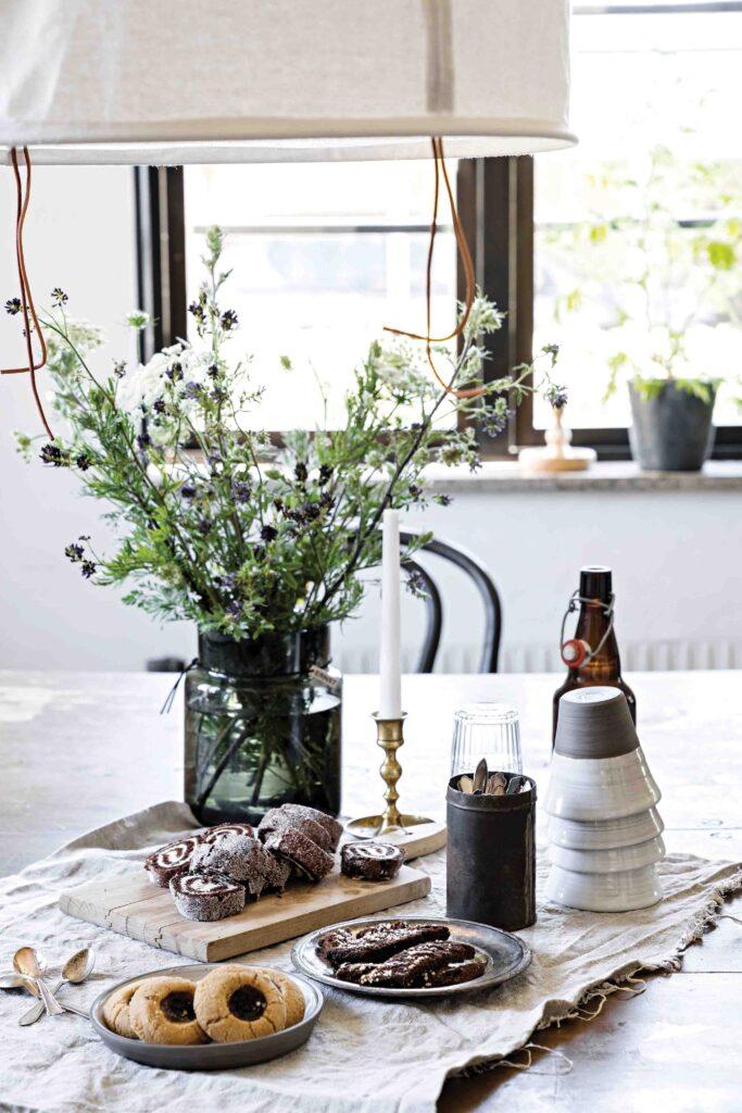 table maison style moderne et contemporain