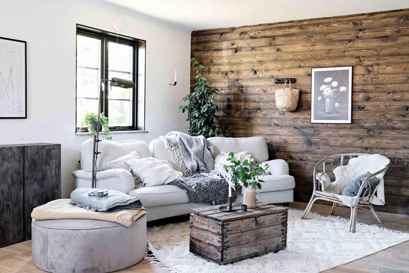 maison style moderne et contemporain salon