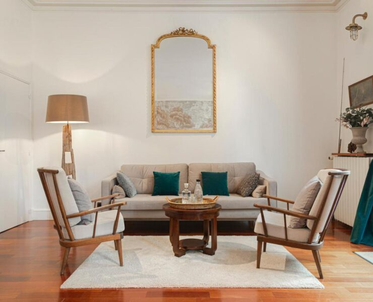 salon maison classique